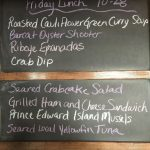 Friday Lunch Specials