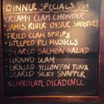 Tuesday Dinner Specials 11/29: 1/2 priced bottles of wine!
