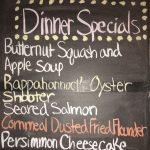 Monday Dinner Specials 12/12