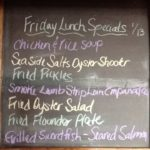 Friday Lunch Specials 1-13