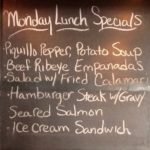 Monday Lunch Special 1/23/17