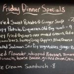 Friday Dinner Specials: Live Music Tonight, Taste of The Beach Oyster Dinner tomorrow night