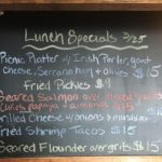 Saturday Lunch Specials 3/25