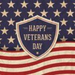 Veterans Day – Saturday, November 11th – Veterans Eat for 50% Off!
