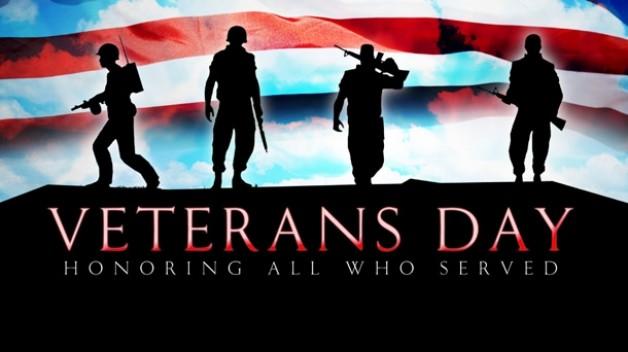 Happy Veteran's Day:  Veterans 50% OFF Today